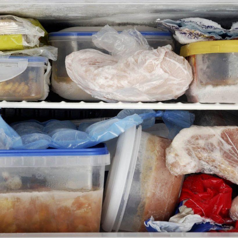 Conservare il cibo secondo l'HACCP