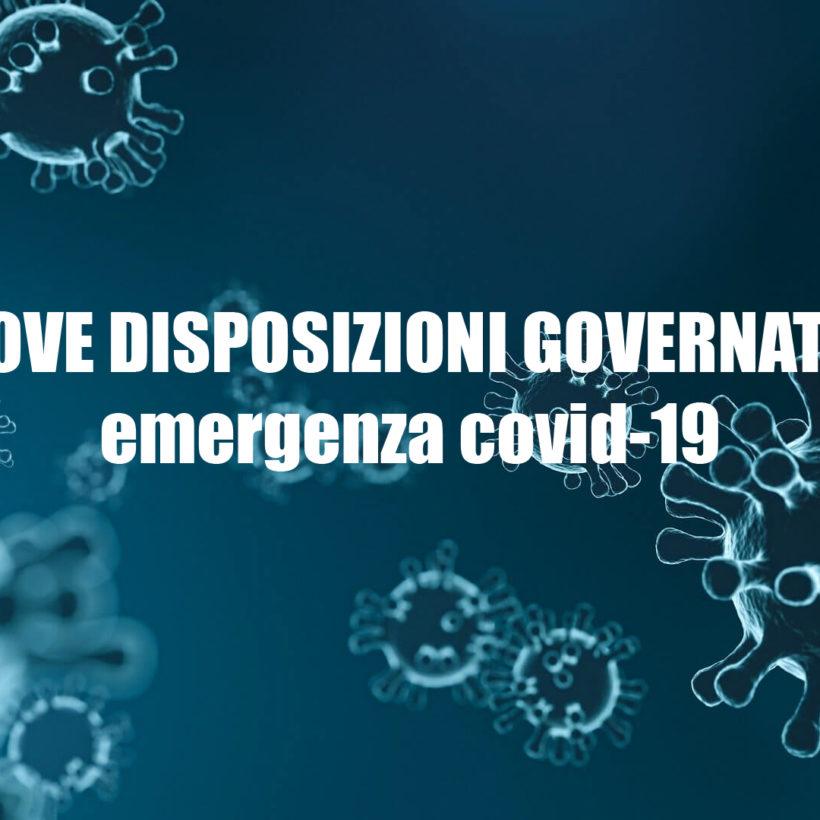 Disposizioni Ministeriali Covid-19: avviso alla clientela