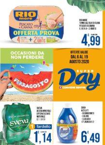 Volantino Offerte Super-Day 6/19 agosto 2020