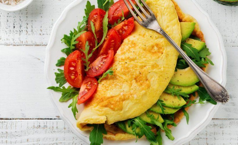 Ricetta omelette di verdure
